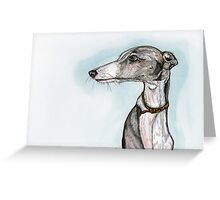 A Little Silky Greeting Card