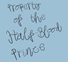 Property of the Half-Blood Prince by babibell