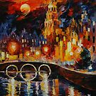 AMSTERDAM'S MAGIC - LEONID AFREMOV by Leonid  Afremov