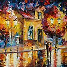 NIGHT SILENCE - LEONID AFREMOV by Leonid  Afremov