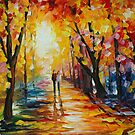 SUNNY WAY - LEONID AFREMOV by Leonid  Afremov