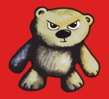 Cute Angry Bear by Nik Usher