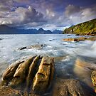 Isle of Skye : Elgol Surge by Angie Latham