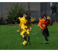 090911 097 0 paint & ink soccer Photographic Print