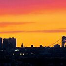 September Sunset, New York City  by Alberto  DeJesus