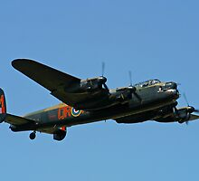 Battle of Britain Memorial Flight Lancaster by Bob Martin