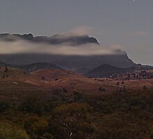 Misty Elder Range in Moonlight by pablosvista2