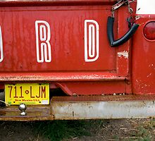 Red Ford by Glennis  Siverson