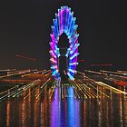 Singapore Flyer by Adri  Padmos