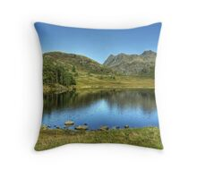 Two Tarns In September Throw Pillow