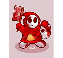 Shyguy the 13th Photographic Print