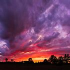 Epic Midwest Sunset by Kenneth Keifer