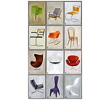 famous chairs Photographic Print