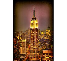 Empire Light, NYC Photographic Print