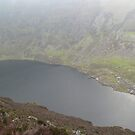 Coumshingaun Lake,Comeragh Mountains,Co.Waterford. by Pat Duggan
