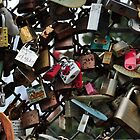 Love Locks in Seoul by Christian Eccleston