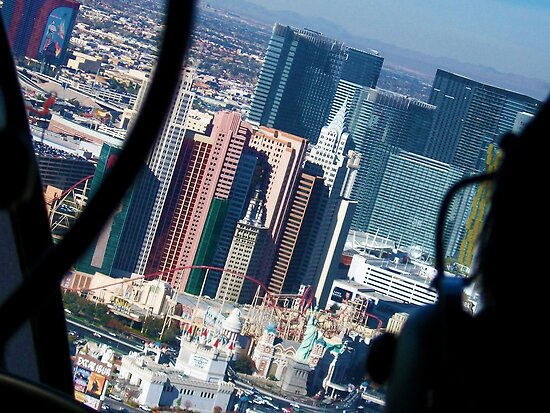 Las Vegas from the Helicopter by Laura-Lise Wong