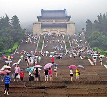 Sun Yat Sen Mausoleum, Nanjing, Jiangsu by DaveLambert