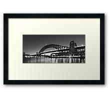 Towards the Bridge Framed Print