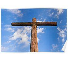 Beneath the Cross of Jesus Poster