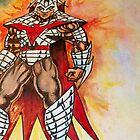 Medieval warrior by joelionbat