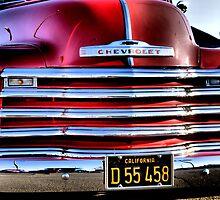 Red truck by MarthaBurns