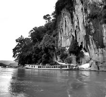 Nam Ou River and Caves by PeterABanham