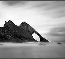 Bow Fiddle Rock, Scottish Highlands. by Andrew Watson