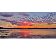 Sunset in Spring...17-9-11. Photographic Print