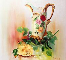 Antique China Vase by IlonaT