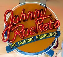 JOHNNY ROCKETS HAMBURGERS by hobbinsc