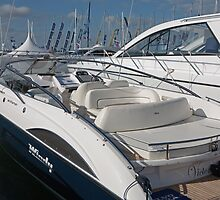 Windy 35 Khamsin at The Southampton boat show 2011 by Keith Larby