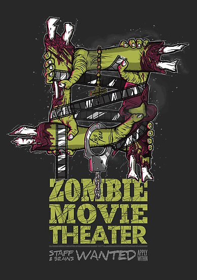 Zombie Movie Theater (US) by Stuart Fraser