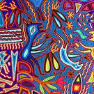 Huichol Art II - Indian Culture by Bernhard Matejka