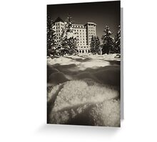 Romantic Lake Louise Greeting Card