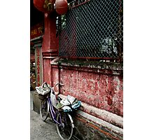 Pagoda Bicycle Photographic Print