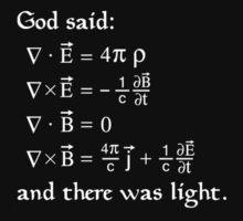 God said by Blubb