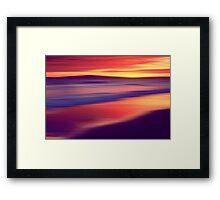 Echo Beach Framed Print