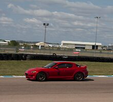 Trevor K. Silva's Mazda RX8  at Heartland Park Topeka by Paul Danger Kile