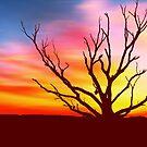 Inferno Tree by David Alexander Elder