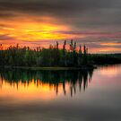Blachford Lake, NWT by Elisabeth van Eyken