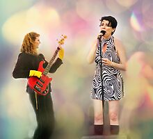 Two Girls in a Band by Rebecca Cozart