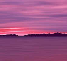 Outer Hebrides Dusk by David Alexander Elder