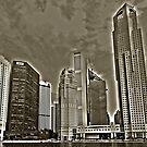 Skyscrapers of Singapore by Adri  Padmos