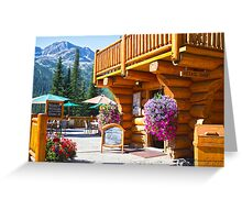 Island Lake Lodge - Fernie, BC, Canada Greeting Card