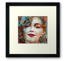 """I'm Just A Girl Who's Intentions Are Good  """"Please Don't Let Me Be Misunderstood Framed Print"""