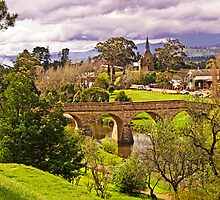 Richmond Church and Bridge View by TonyCrehan