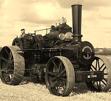 Traction Engine from years gone by by DebraD