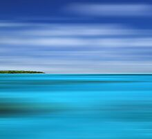 Tropical Desert Island by David Alexander Elder