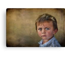 Blue-Eyed Boy Canvas Print